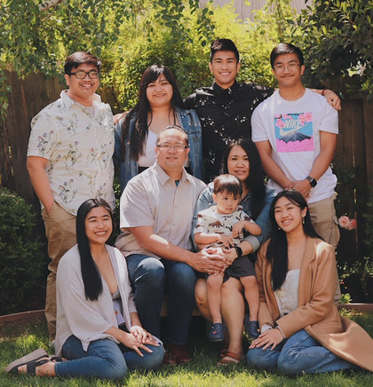 Declines Family Photo
