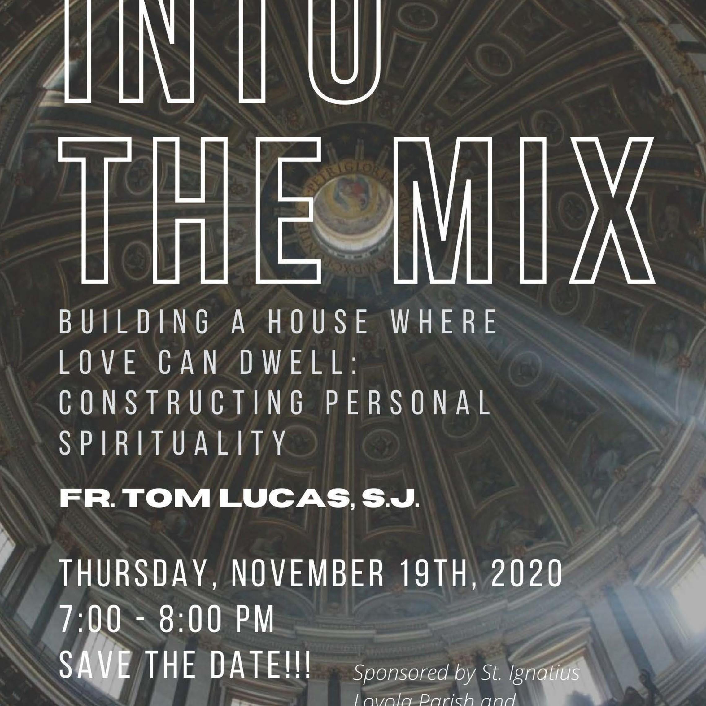 Into The Mix Nov Flyer