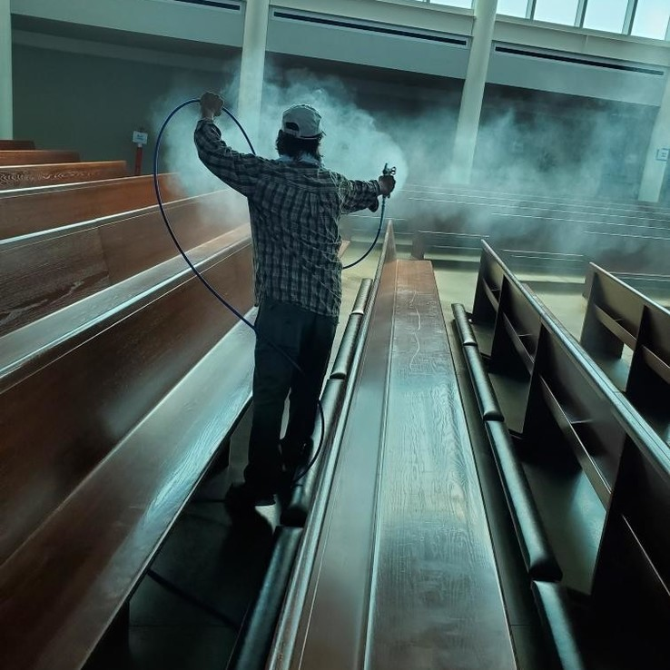 Church Cleaning 1