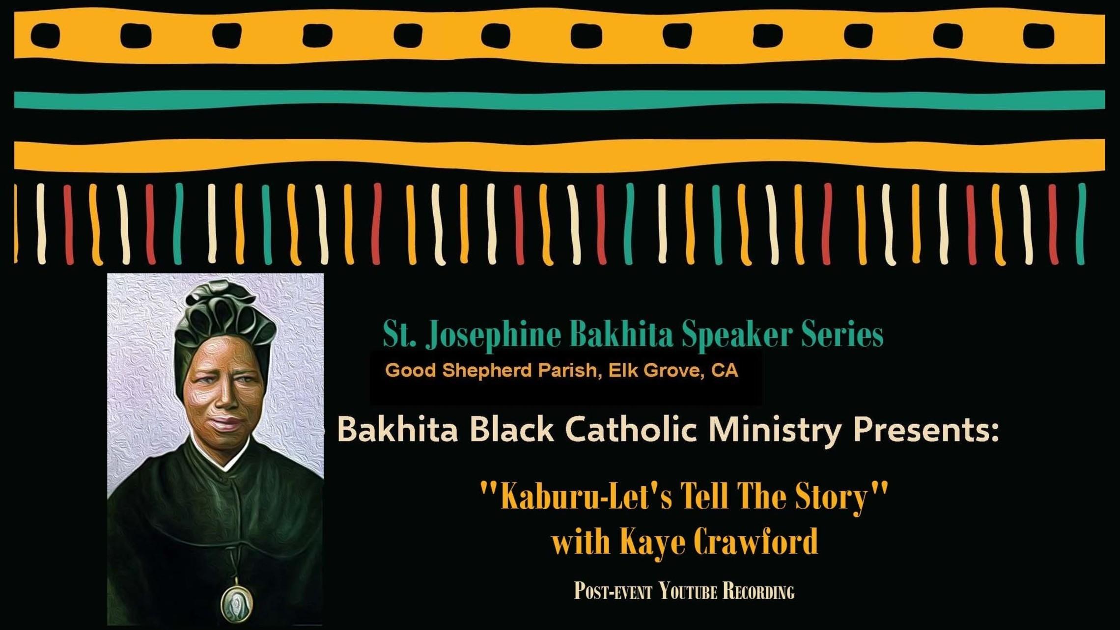 Bakhita Speaker Series Kaburu Horizontal Web