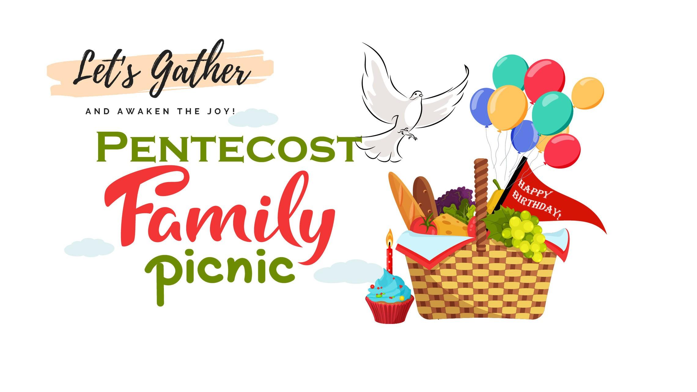 Pentecost Picnic Lets Gather Event